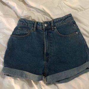 Zara Mom Style Shorts